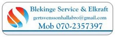 BLEKINGE SERVICE & ELKRAFT