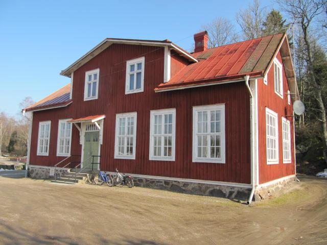 Min gamla skola i kärt minne:Ettebro skola