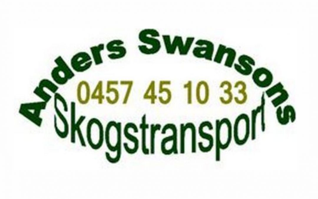 ANDERS SWANSONS SKOGSTRANSPORT