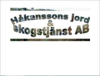 HÅKANSSONS JORD & SKOGSTJÄNST AB